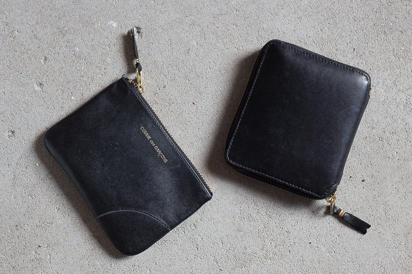 review comme des garcons wallet